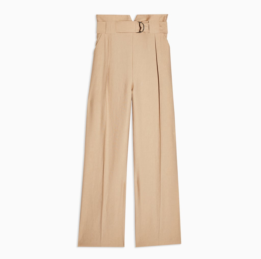 Topshop Slouch Peg Trousers