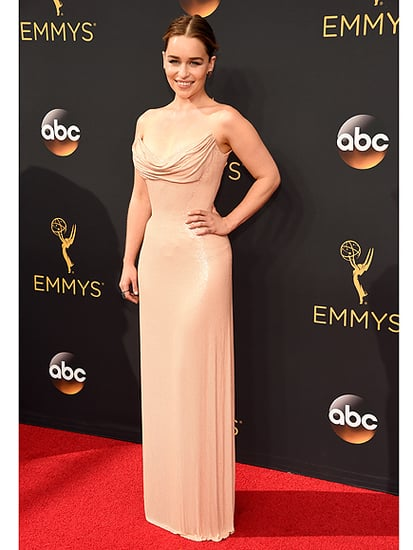 Emilia Clarke Dazzles at Emmy Awards - But Admits She Still Gets 'Flustered' Meeting Fans!