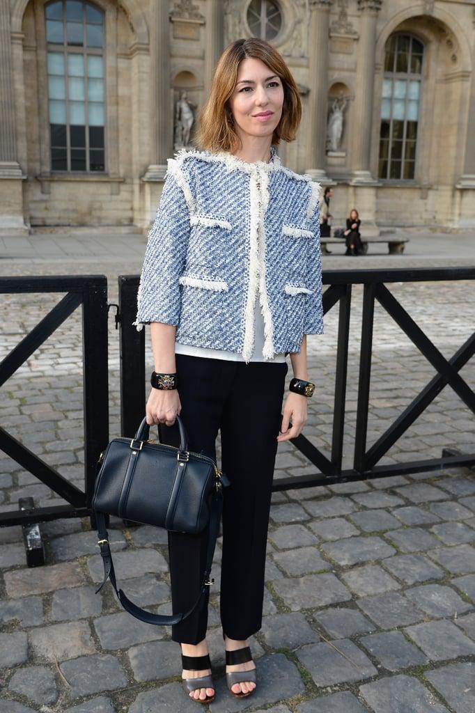 Sofia Coppola: Louis Vuitton SC Bag