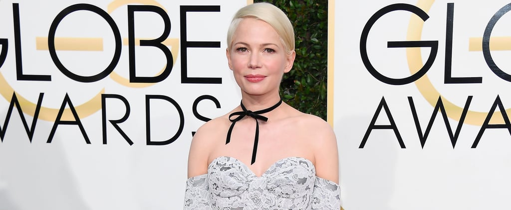 Michelle Williams Just Proved That Chokers Are Elegant Enough For the Red Carpet