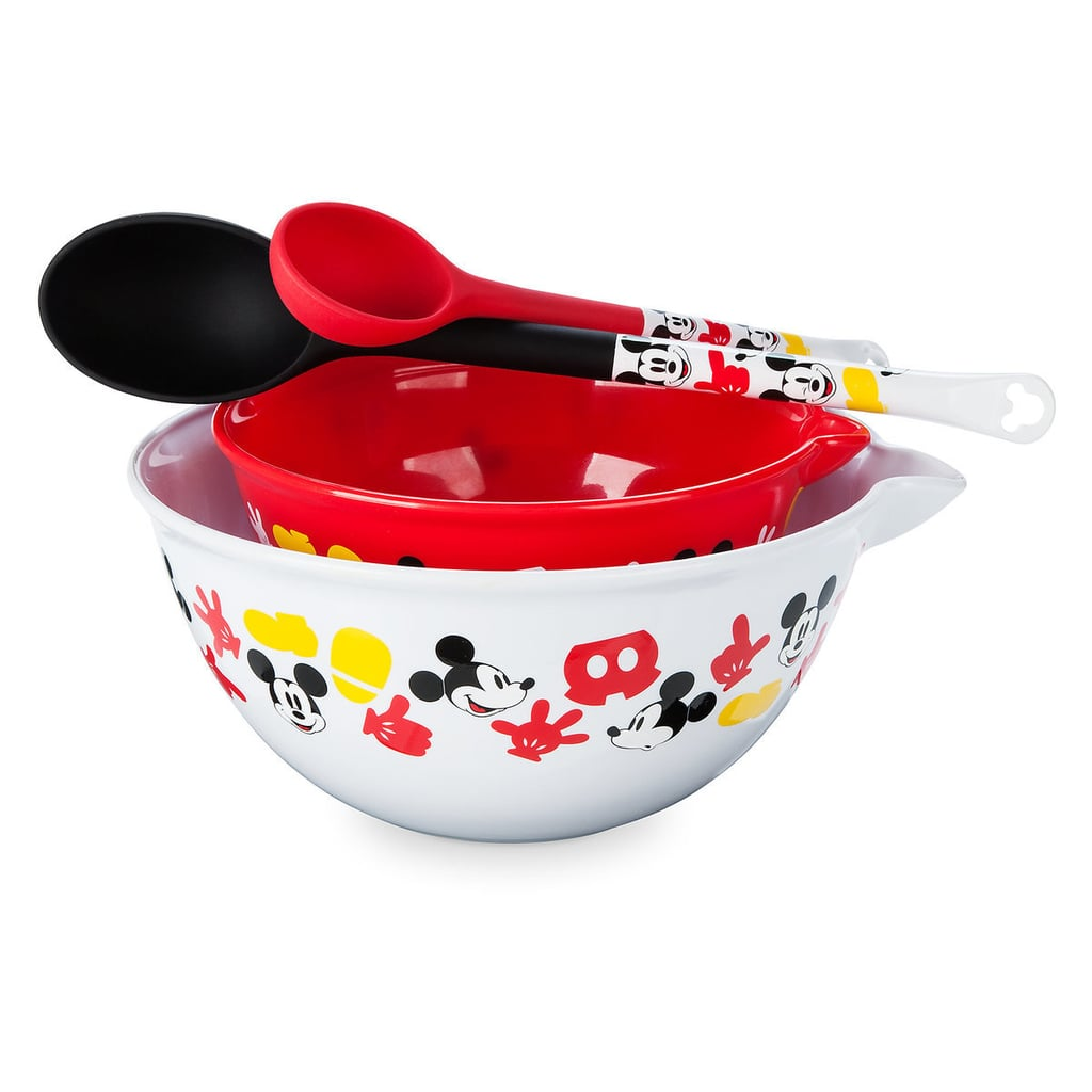 Mickey Mouse Bowl and Spoon Set | Disney Eats Kitchenware Collection ...
