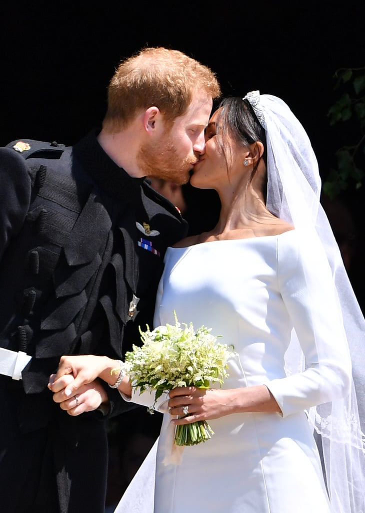 Prince Harry and Meghan Markle are officially a married couple! The two have been going strong since the Spring of 2016, and we got a closer look at their romance in 2017. Whether they were out on a romantic date night, a sports event, or a royal engagement, Harry and Meghan never shied away from showing PDA. On their big day, the two sealed their nuptials with a sweet kiss. In honor of their wedding, take a look at Meghan and Harry's sweetest PDA moments.       Related:                                                                                                           This Probably Explains Why Harry and Meghan Always Show PDA and William and Kate Rarely Do
