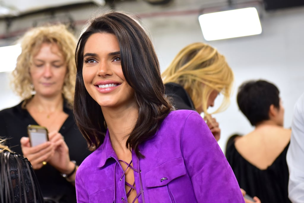 "Kendall Jenner is sitting on the sidelines this New York Fashion Week. While attending the Longchamp show on Sept. 8, the 22-year-old model spoke to W about her noticeable absence from the runway and said she is taking some time for herself. ""It's always fun to be on the other side of things and get to be on the other side of the craziness,"" said Kendall. ""I actually enjoy it."" Though she admitted it's different sitting in the front row, Kendall said she appreciates ""being able to see the collections when they are brand new."" In her free time, Kendall has been trying to keep her anxiety at bay. ""I try to keep myself cool. I go in and out of having freak-outs, so I just have to chill out and be by myself,"" she said. ""Yesterday, I took a bath because I was really stressing out."" Kendall has in the past spoken candidly about her anxiety and the pressure of her career. In a recent interview with Love, Kendall said she has to be ""selective"" about the number of runway shows she does. ""I was never one of those girls who would do like 30 shows a season or whatever the f*ck those girls do,"" she said. Her comment drew criticism from her peers who argued that turning down jobs is not always a feasible financial option. New York Fashion Week lasts until Sept. 12, but Kendall left early and touched down in Paris on Sept. 10. At this point, it's unlikely that Kendall will walk in any runway shows for the season, however, she may make appearances at other events throughout Fashion Month.      Related:                                                                                                           Kendall Jenner Just Opened a Runway Show With Her Best Gal Pal, You Jeal?"