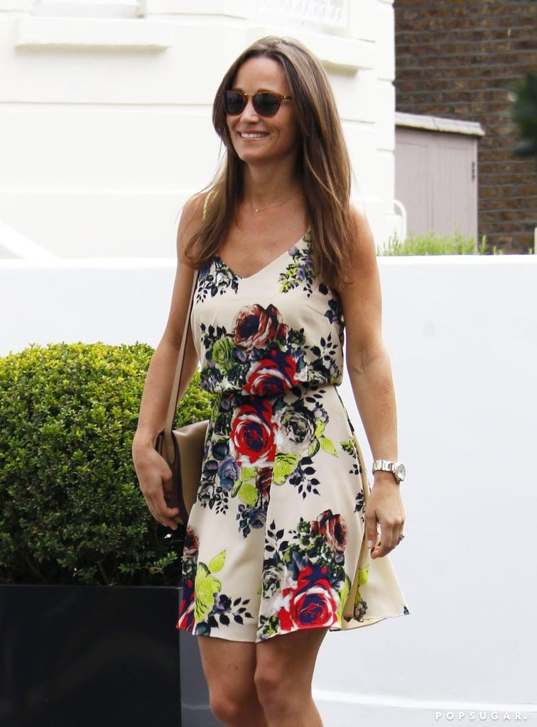 Pippa Wearing a Breezy Summer Dress in 2016