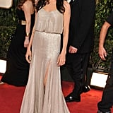 Angelina Jolie at the 2009 Golden Globe Awards