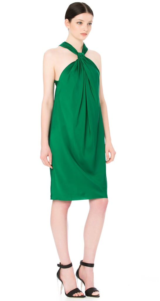 I do love a bit of colour during the festive season, and I still haven't tired of emerald green since it hit the runway a couple of seasons ago. This dress looks as flattering as it does comfortable— a necessity for a long day and night of celebrating in the sun. — Marisa, publisher Dress, $600, Scanlan Theodore