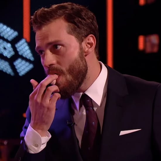 Jamie Dornan Eating Christian Grey Cake | Graham Norton Show