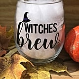 Witches Brew Wine Glass