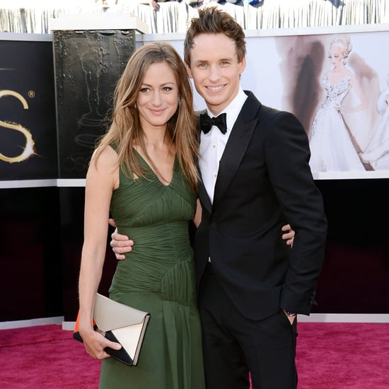 Eddie Redmayne and Hannah Bagshawe at the Oscars 2013