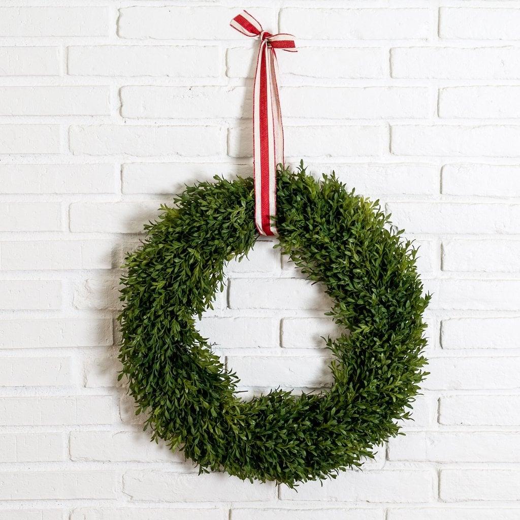 Everly Boxwood Wreath ($78)