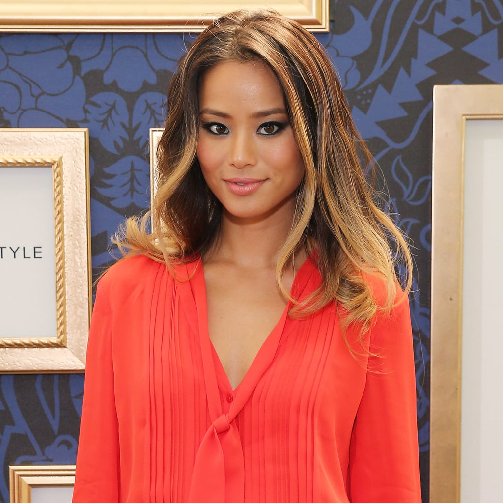Jamie Chung at the Marchesa Voyage For ShopStyle Launch