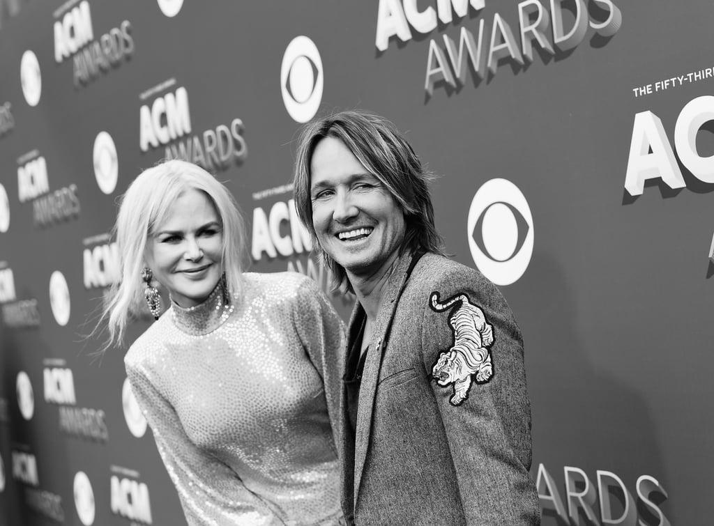 Nicole Kidman and Keith Urban ACM Awards 2018 Photos