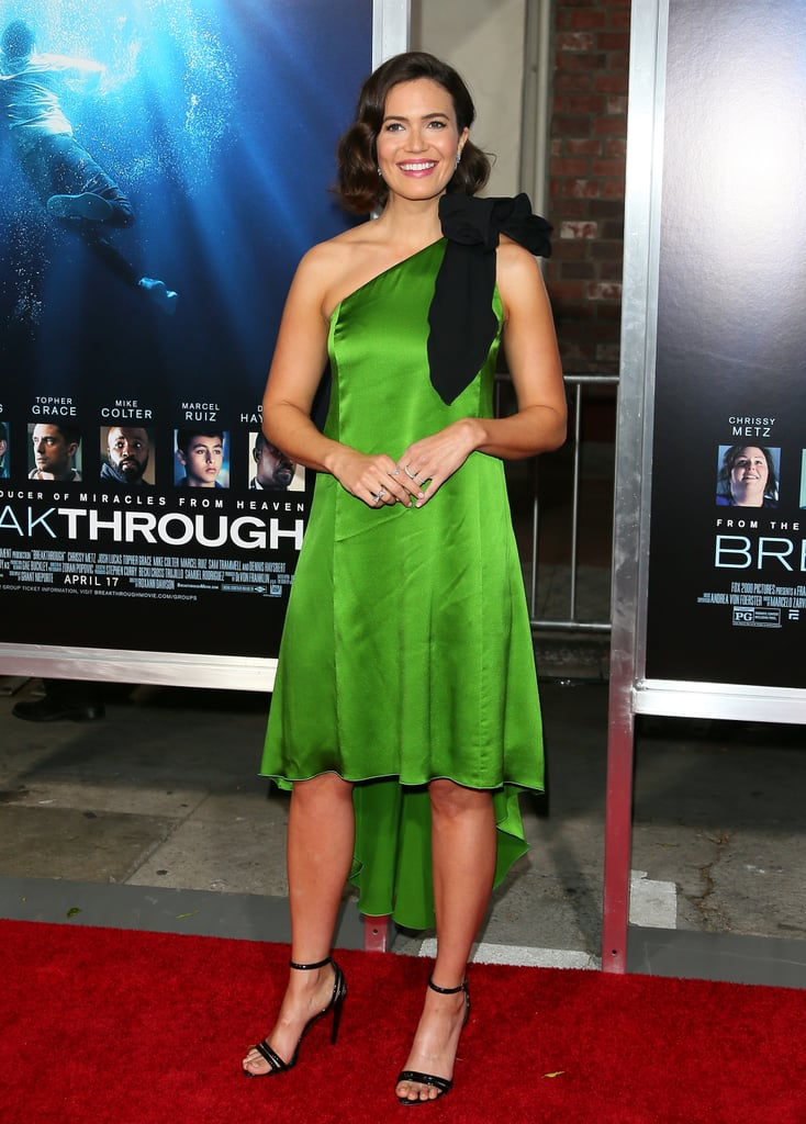 Mandy Moore's Green Dress at Breakthrough Premiere 2019 | POPSUGAR Fashion UK