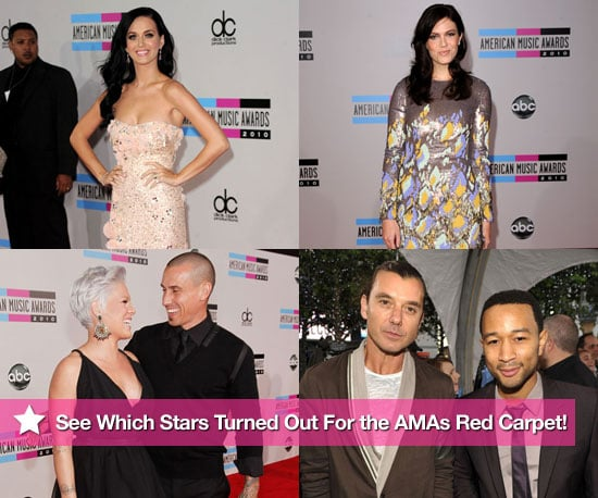 Pictures of Stars at the 2010 American Music Awards