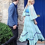 Kate Moss and Jamie Hince Have a Prewedding Drink in the English Countryside!