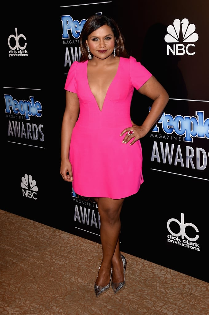 Rocking another custom Salvador Perez creation at the People magazine awards in 2014.