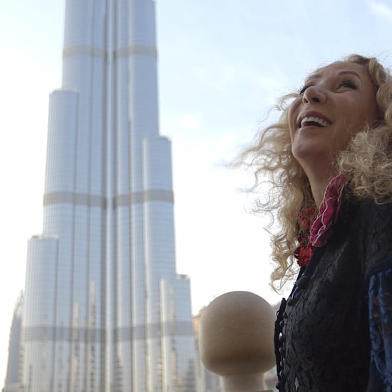 Watch CNN Inside the Middle East With Reem Acra in Dubai