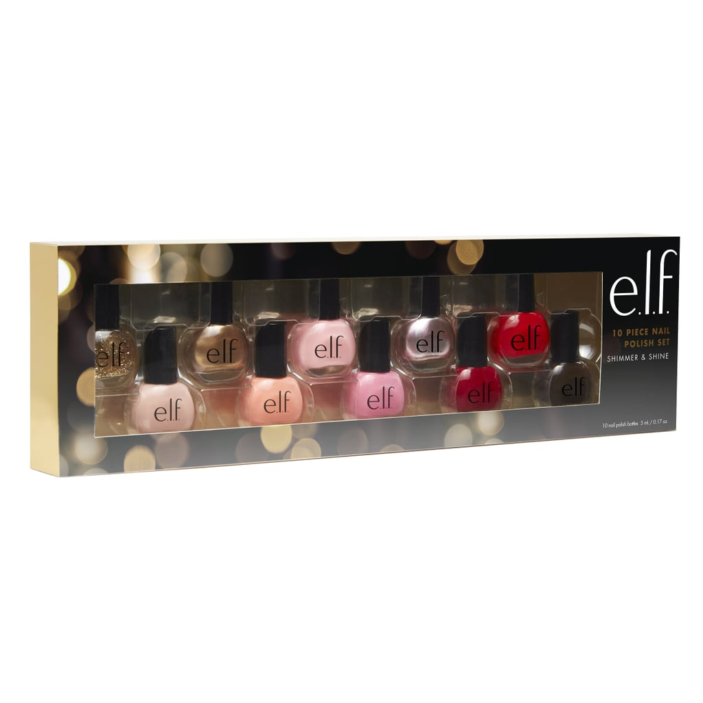 ELF Holiday Nail Polish Shimmer and Shine Collection | Elf x Target ...