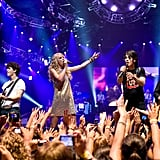 Taylor Swift and the Jonas Brothers Performing Together in 2008