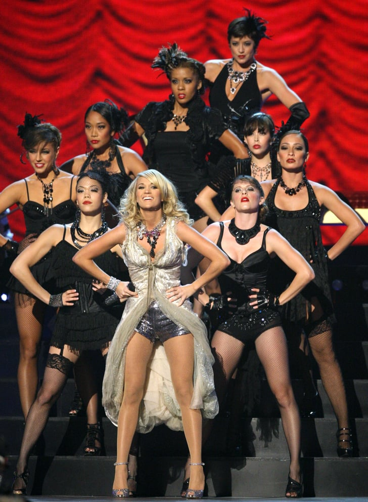 Photos of Carrie Underwood's Oufits at 2009 Country Music Awards