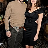 Bradley Cooper cozied up to Gemma Arterton at a dinner party in February before the BAFTAs in London.