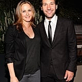 Alicia Silverstone and Paul Rudd were together again in Aug. 2011 for a screening of Our Idiot Brother.