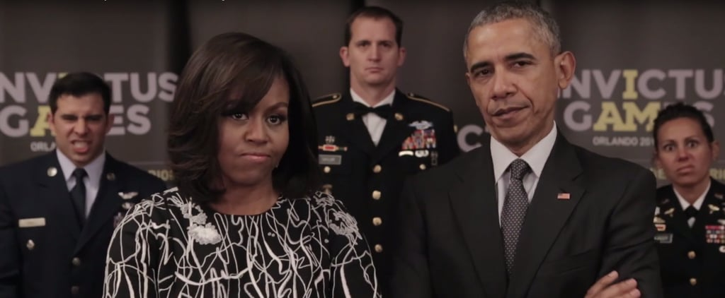 """President Obama and Michelle Obama Send a PSA to Prince Harry: """"Careful What You Wish For"""""""