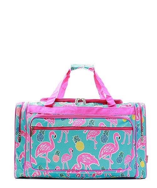 Pink Flamingo Print Duffle ($30)