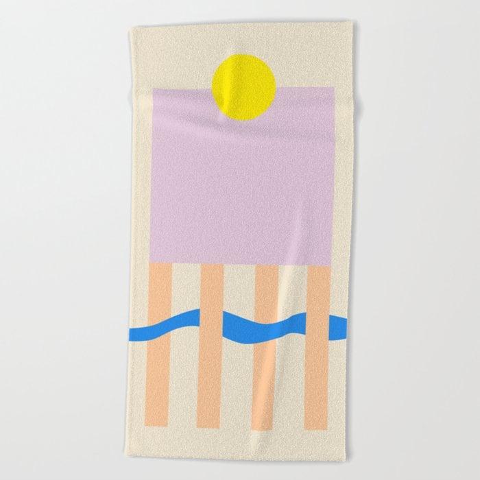 TABLE  Beach Towel by sandrapoliakov