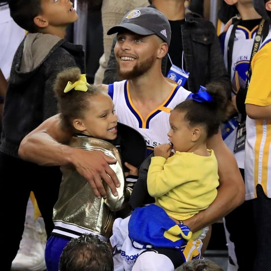 Stephen Curry POPSUGAR Interview April 2018
