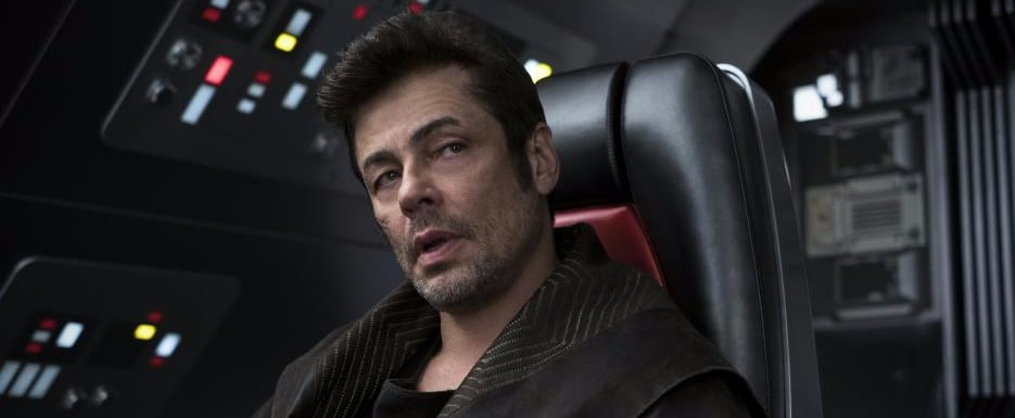 Who Does Benicio Del Toro Play in Star Wars?