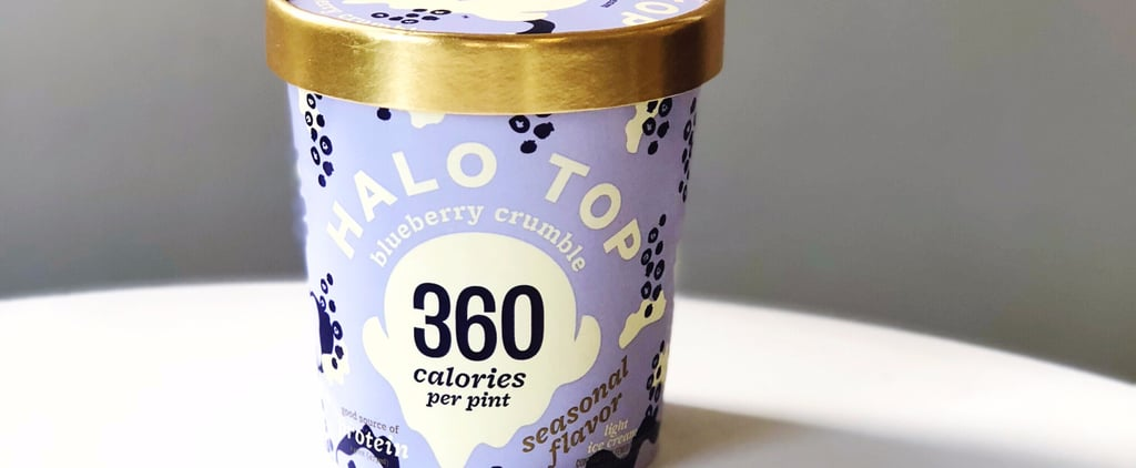 Halo Top Blueberry Crumble Taste Test
