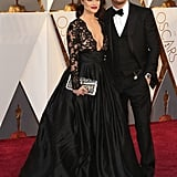 Tom Hardy and Charlotte Riley at the 2016 Oscars