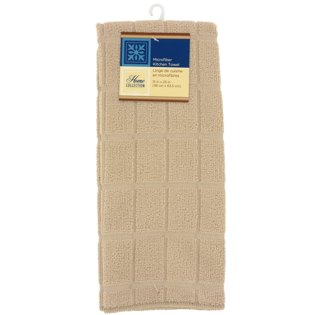 Home Collection Tan Windowpane Pattern Kitchen Towels ($1 each)