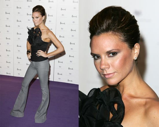Victoria Beckham Launches DVB line in Harrods