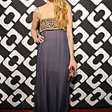 Whitney Port dropped by DVF's bash.