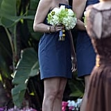 Tori Spelling was honored as a bridesmaid on her friend's big day, which took place in Beverly Hills in January 2011.
