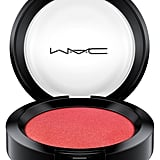 Mac in Monochrome Ruby Woo Collection Powder Blush in Apple Red