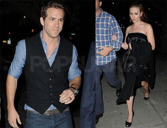 Photos of Ryan Reynolds and Scarlett