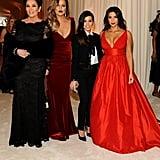 Kourtney, Kim, and Khloé Kardashian