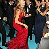 Sofia Vergara danced at the 2013 HBO Emmys afterparty.