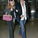 Denise and Richie at LAX