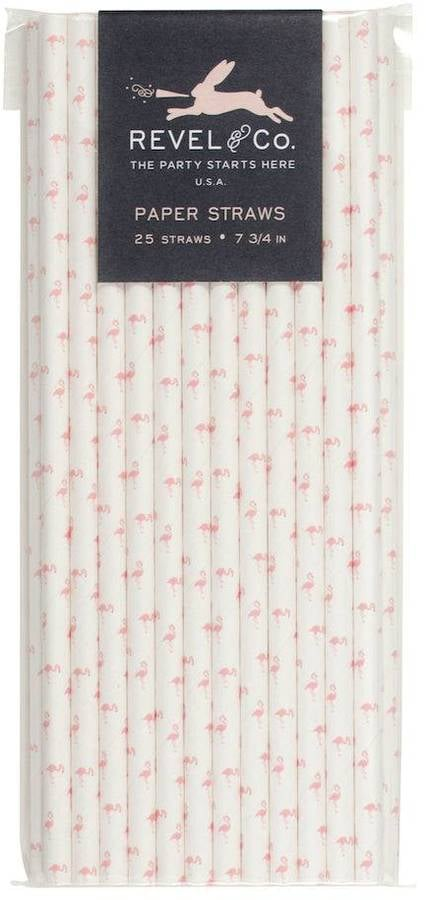 Flamingo Straws ($5)