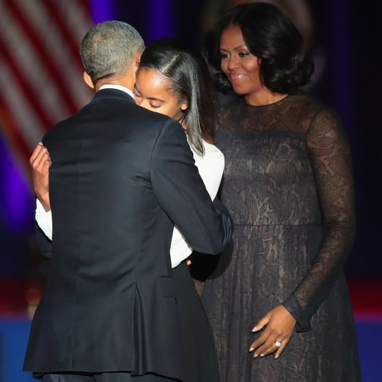 President Obama Praises Michelle and Girls in Last Speech