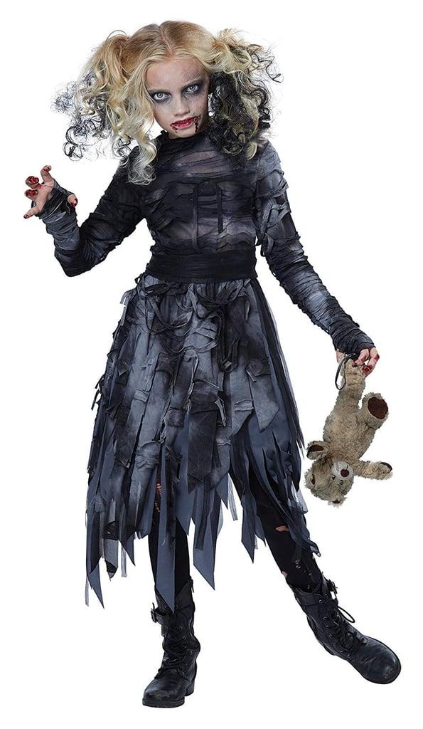 Halloween Costumes For Kids Girls Zombie.Zombie Girl Costume Scary Halloween Costumes For Kids