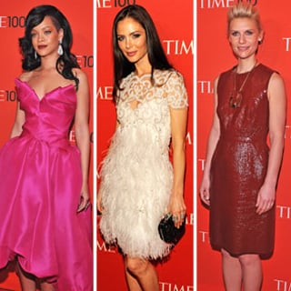 Rihanna and Claire Danes at Time 100 Gala 2012