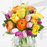Flying Flowers Sunny Tulips and Roses (£24)