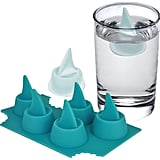 Sharks in My Glass Silicone Shark Fin Ice Cube Tray