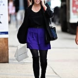 Princess Eugenie was spotted walking around NYC's East Village in October 2013.
