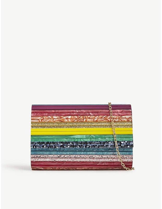 Kurt Geiger London Rainbow Clutch Bag